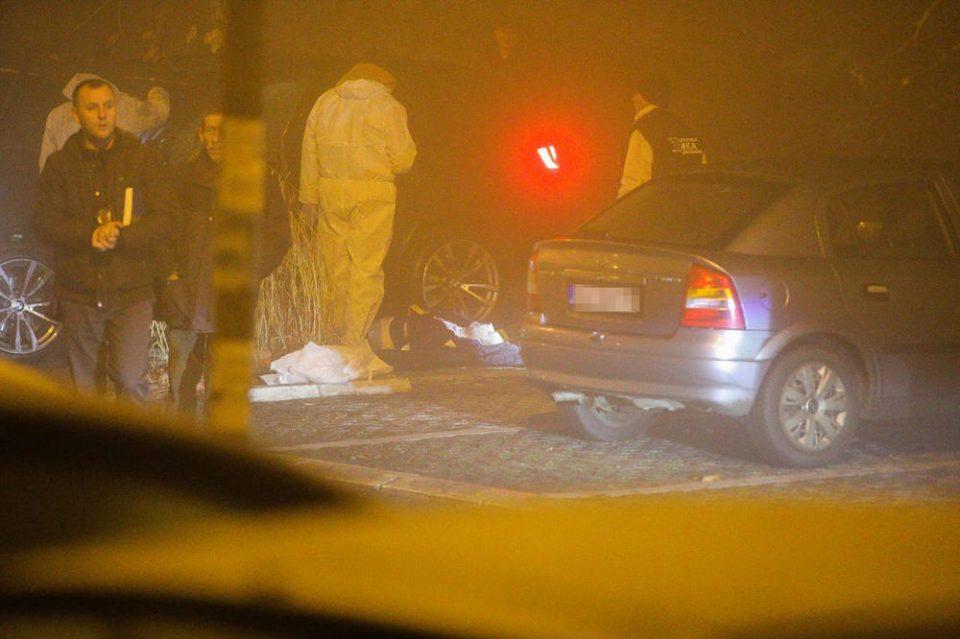 Убиен од заседа: Маж ликвидиран пред двете ќерки и синот