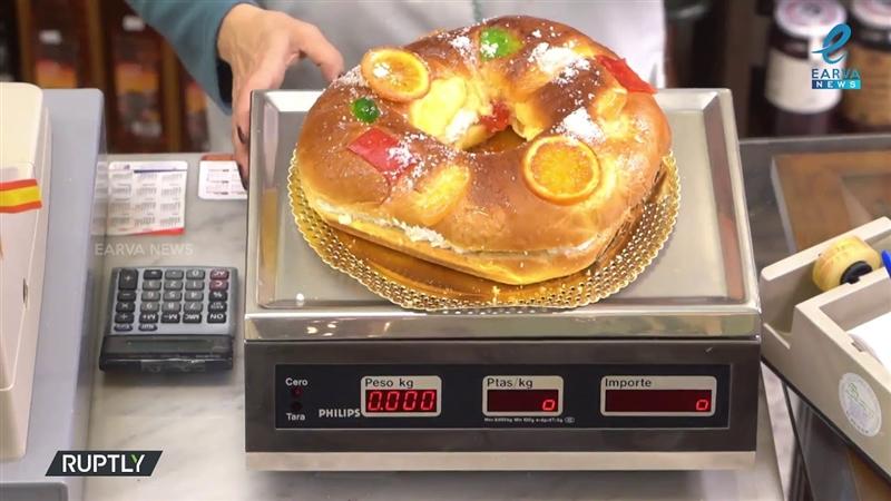 Сите патишта водат во шпанскиот град Ла Банеза: Пуштена е новогодишна торта со 10.000 долари