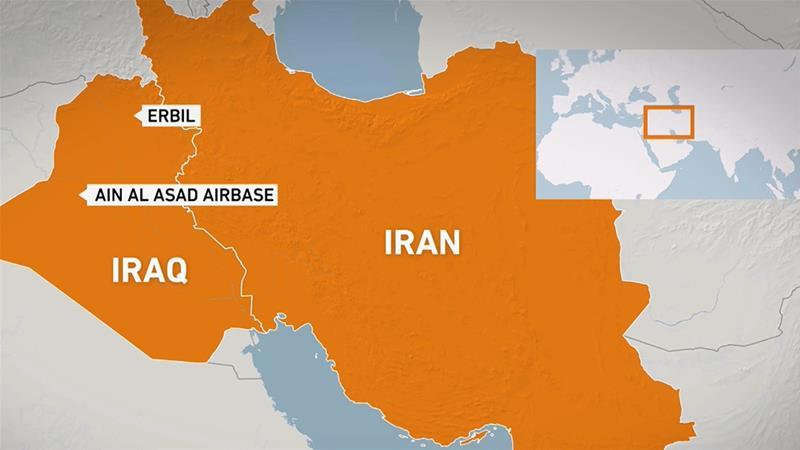 Започна војна: Десетици ирански ракети погодија американска база во Ирак, САД возвраќаат на нападот