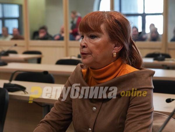 Спотовите на ВМРО-ДПМНЕ со ликот на Рускоска предизвикале загриженост, анксиозност и душевна болка кај обвинителката