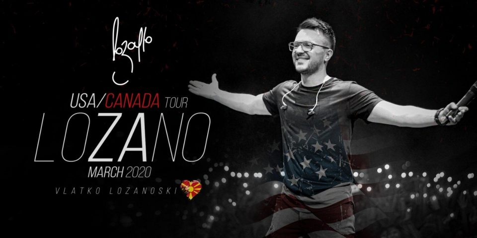 Влатко Лозаноски заминува на голема концертна турнеја во Америка и Канада