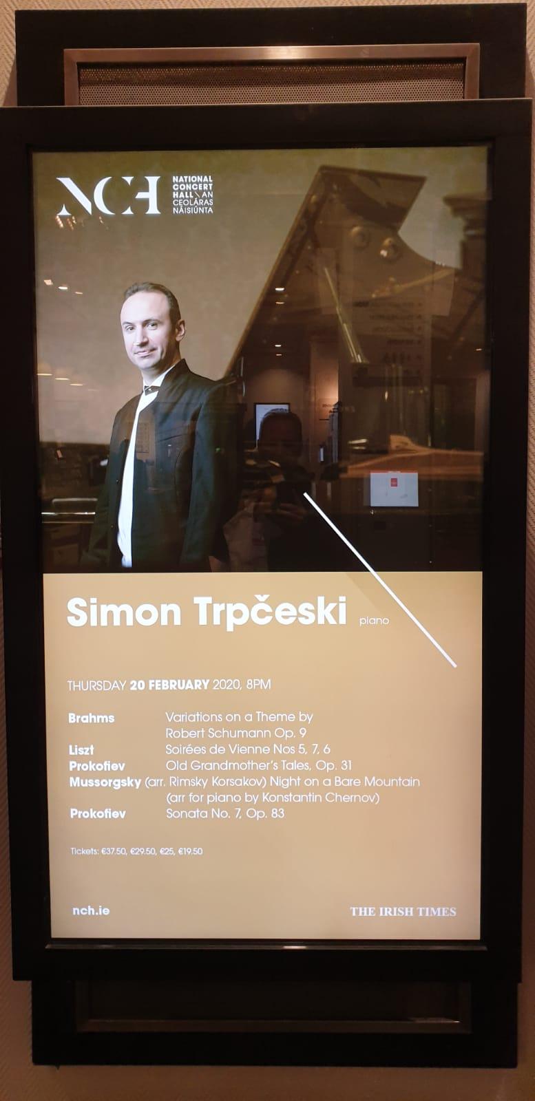 Стоечки овации за македонскиот пијанист со светски глас Симон Трпчески во Даблин и Лондон