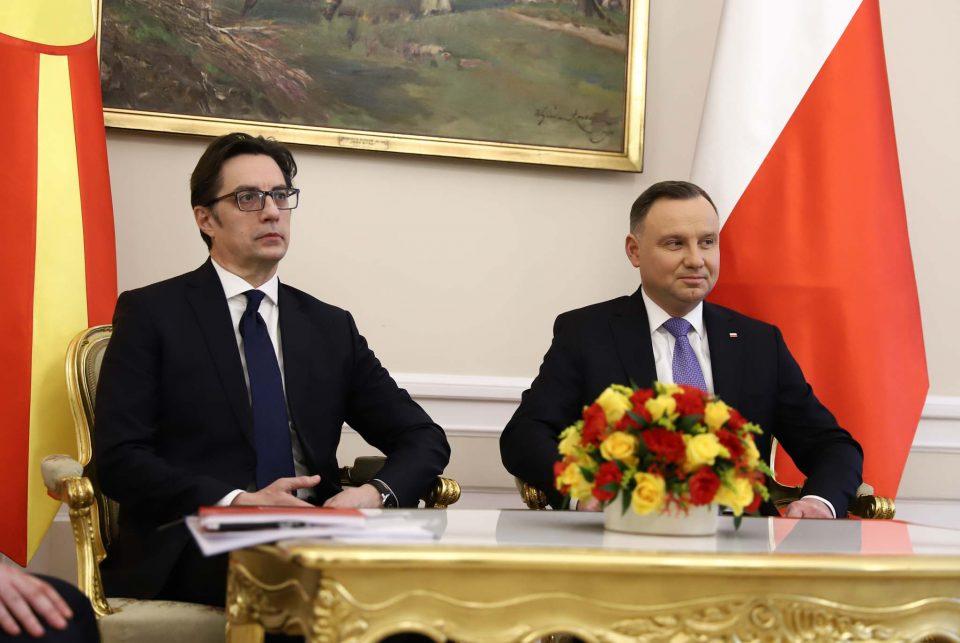 Пендаровски од Полска: Очекувам шпанска ратификација следниот месец
