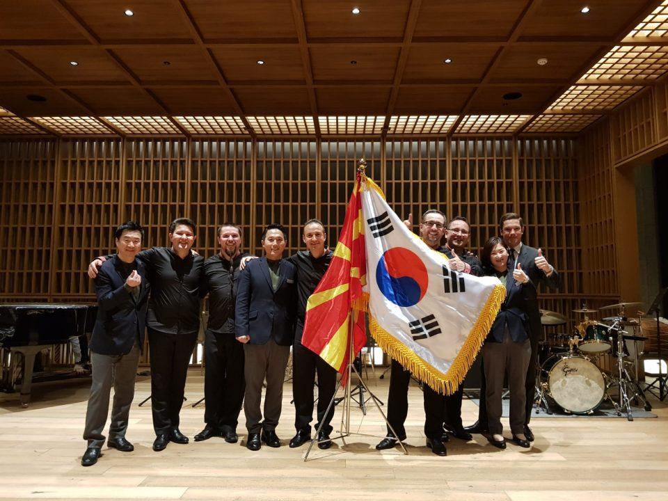 """Азиска премиера на """"Македонисимо"""" на Трпчески и пријателите во Јужна Кореја"""