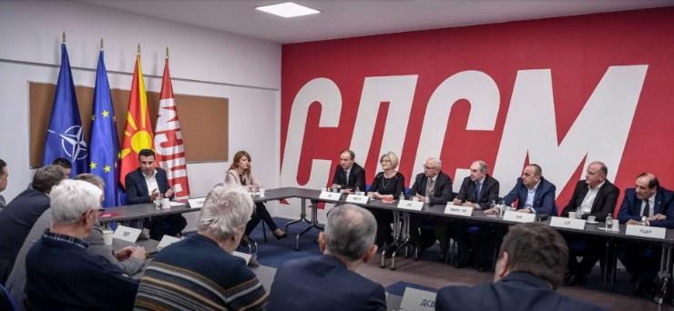 СДСМ потврдува дека уште нема договорено влада