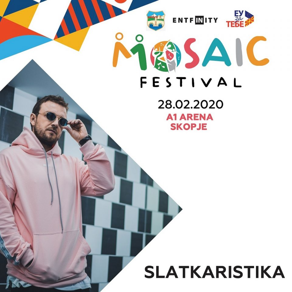 """На првиот """"Мозаик"""" фестивал ќе се слушаат и хитовите на Слаткаристика"""