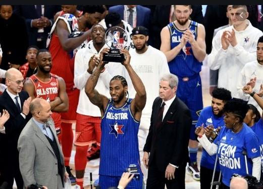 """Заврши НБА """"Ол стар"""" викендот: Тимот на Леброн го победи тимот на Адетокунбо"""