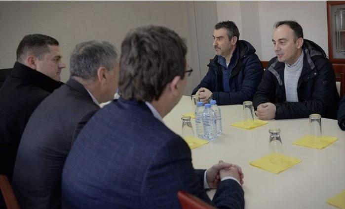 Чулев во полициската станица во Радовиш: Моја обврска и на секој вработен во МВР е да гарантира мирни и безбедни избори