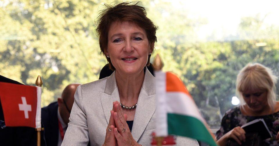 Претседателката на Швајцарија ги покани сите нејзини врсници на својот 60. роденден
