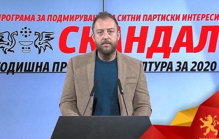Љутков: Со годишната програма за култура за 2020 година наместо културата се поддржува политиката
