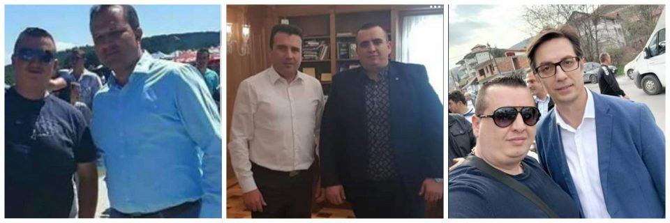 """Чулев ги апси криминалците на СДСМ: Додека Спасовски го """"барал"""", Абдиоски се фотографирал со министерот, премиерот и претседателот"""