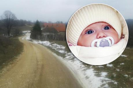 Бебето пронајдено покрај патот среде јануари, доби имe и згрижувачко семејство