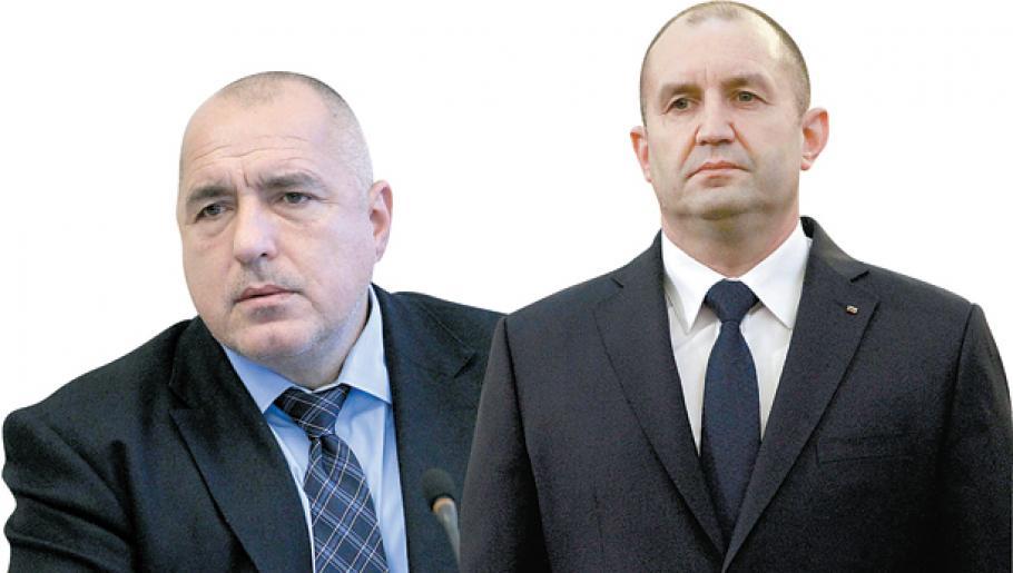 """Борисов го обвини Радев дека е """"сценарист"""" на антивладините протести"""