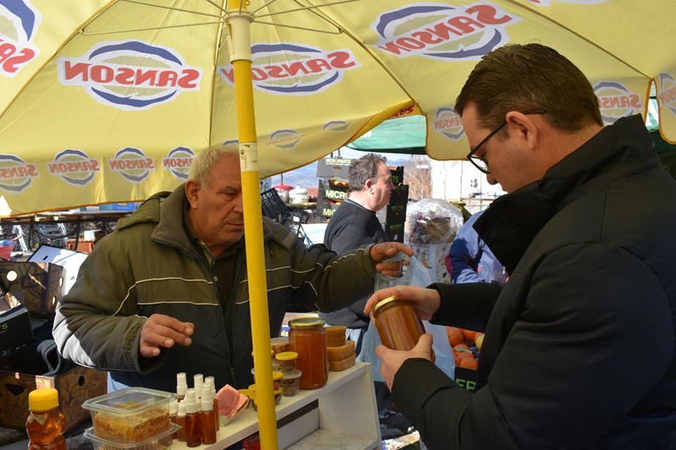 Ќе работиме на подобрување на условите за сите граѓани на Македонија и со тоа да ги заживееме градовите и селата