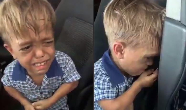 Деветгодишно дете, жртва на булинг, славните скокнаа во негова одбрана