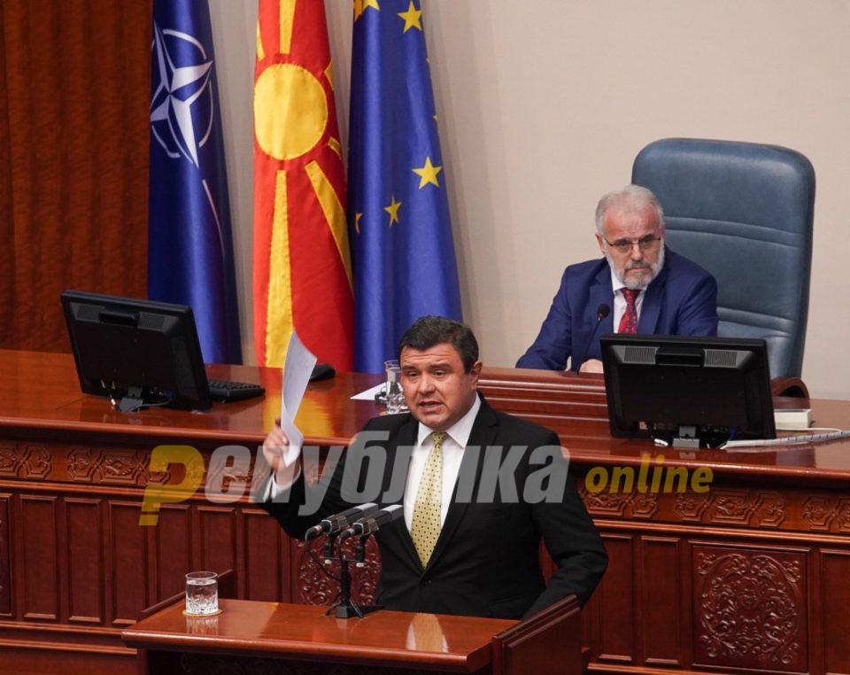 Mицевски: Кога СДСМ беше во опозиција поднесе 5.000 амадмани за блокирање на Деловникот