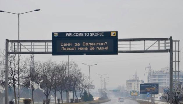 Добредојдовте во Скопје – Сами за Валентин? Појасот нека ве гушне!