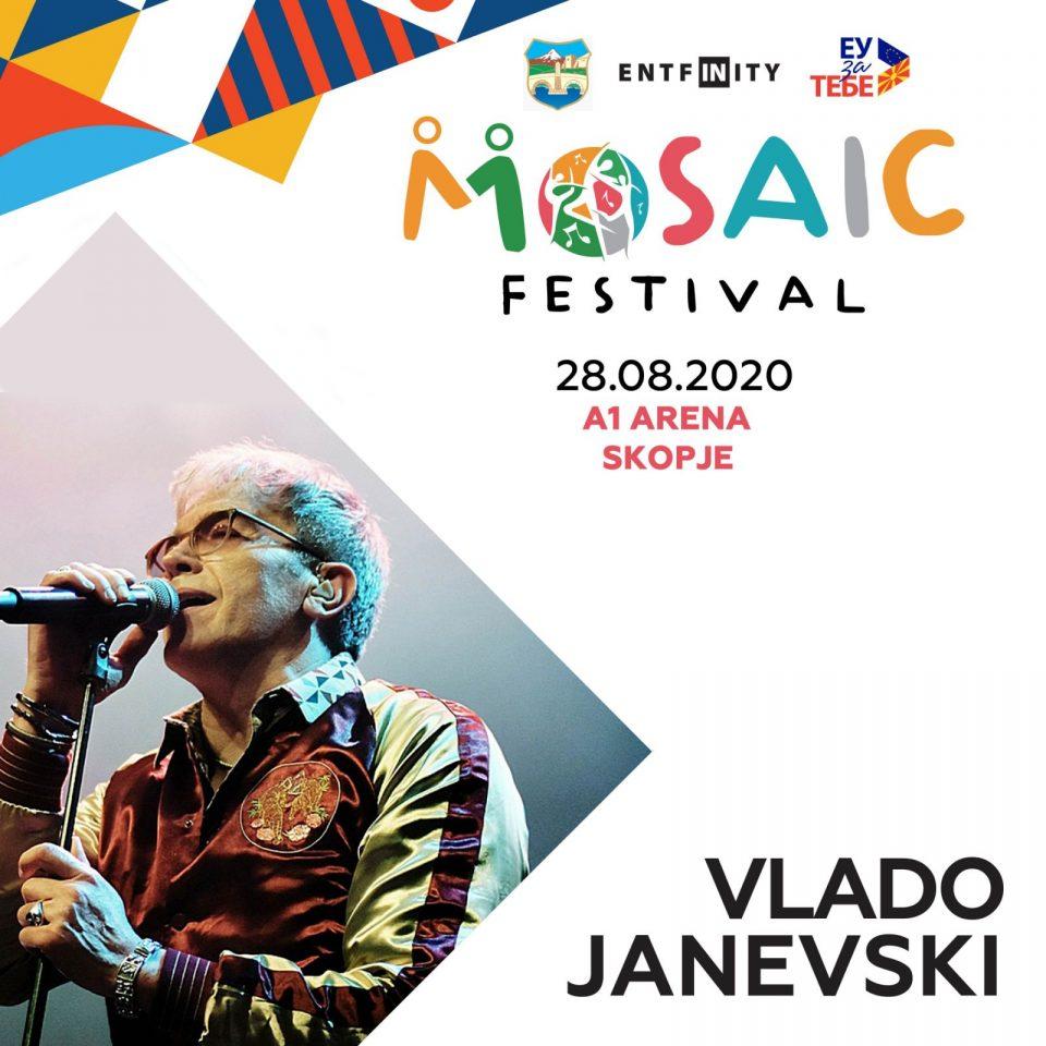 """Владо Јаневски: На """"Мозаик"""" ќе приредиме незаборавна вечер"""