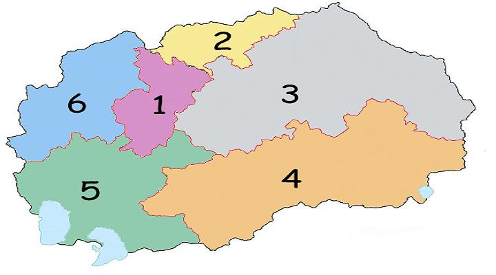 Маврово, Ростуше и Дебар, од Шестата изборна единица се префрлаaт во Петтата