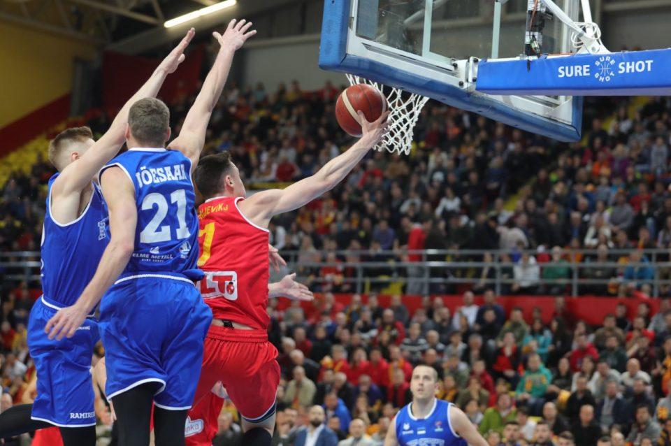 Македонските кошаркари немоќни против Естонија