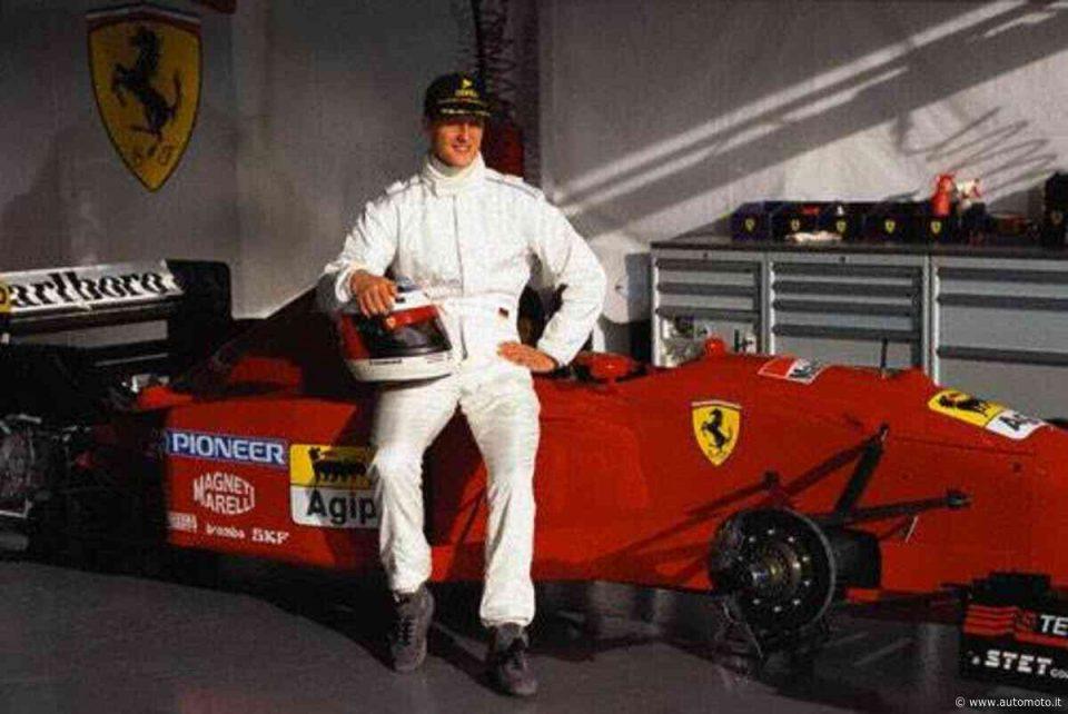 """Се продава првото """"Ферари"""" што Шумахер го возеше"""
