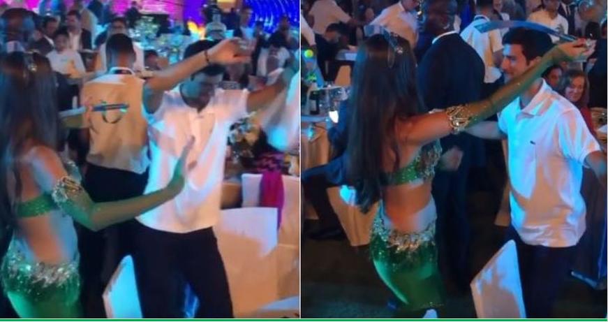 Новак доби предизвик – танц со танчерка, со сабја на глава