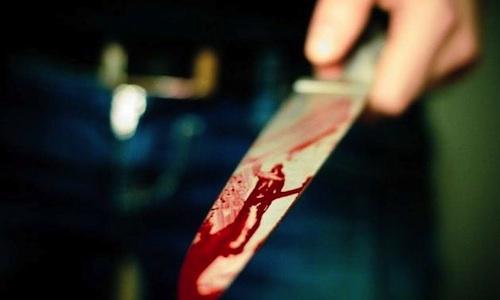 Со нож ги нападнал братот и внукот во двор од семејната куќа
