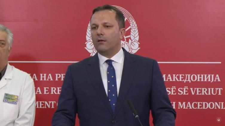 Спасовски: Нема причина за паника, системите се подготвени, воспоставена е контрола