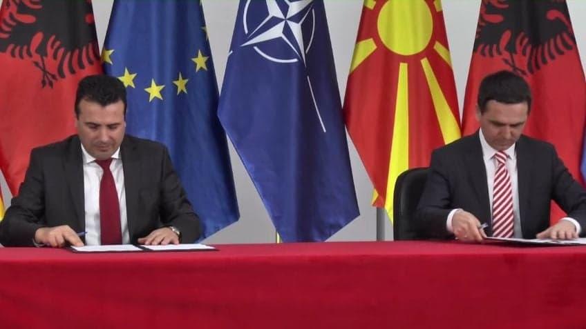 Заев и Касами ја потпишаа коалицијата