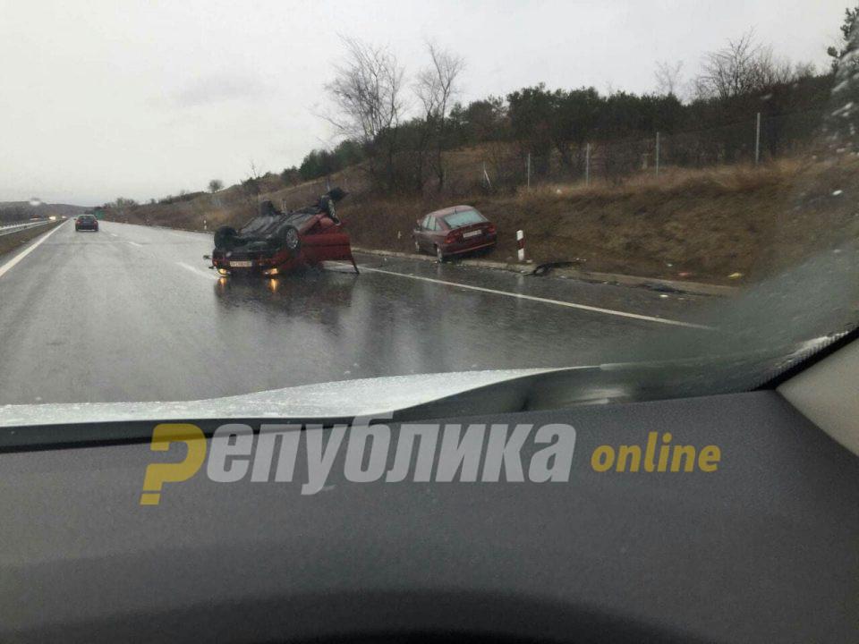 Тешка сообраќајна несреќа во билизина на Свети Николе