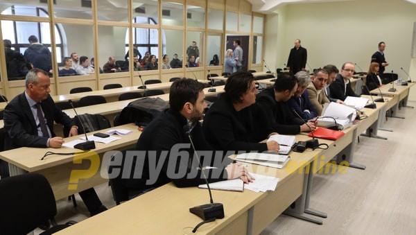 """Сметаат дека е политички прогон: Ниту еден од обвинетите за """"27 април"""" не се чуствува виновен"""
