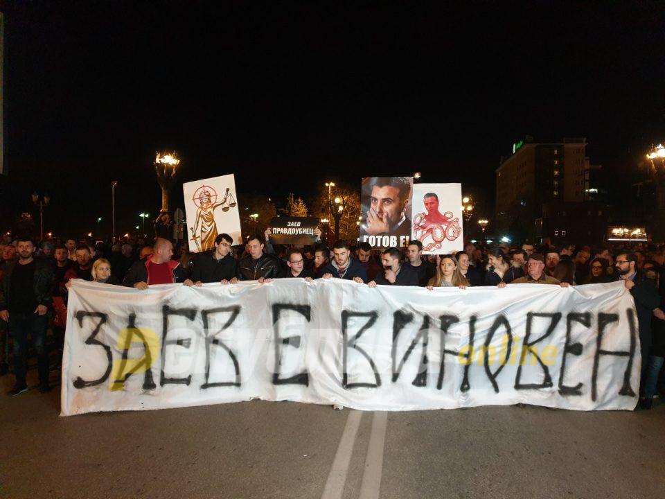 """Готово е!, Заев е виновен, доста е од """"Луј Витон""""судство! – граѓаните ја најавија победата на 12 април"""
