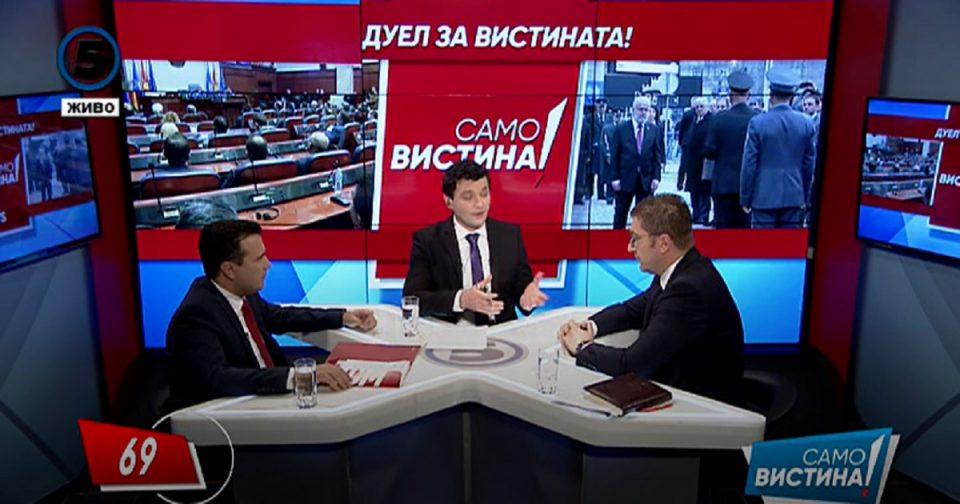 Мицкоски до Заев: До каде е реновирањето на гимназијата во Тетово?
