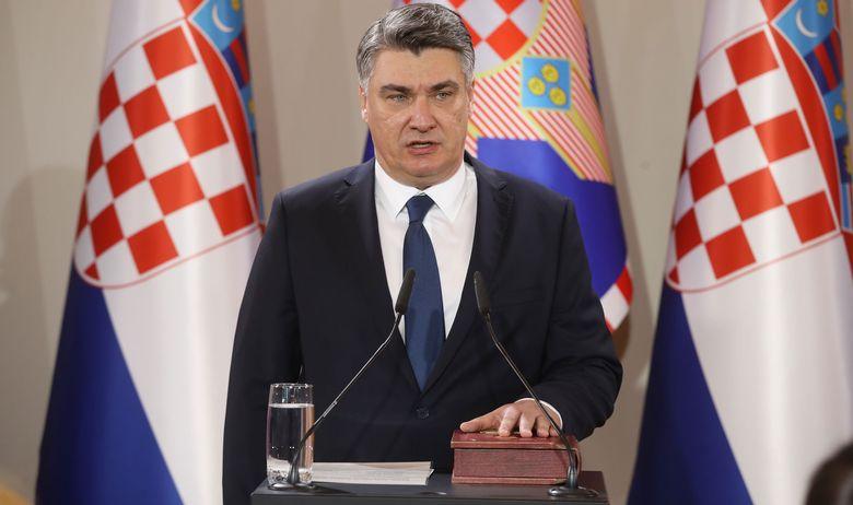 Хрватскиот претседател за време на конференција од келнерот побара да му донесе кокаин