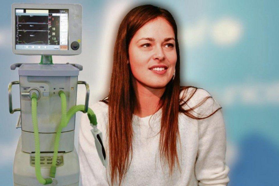 Ана Ивановиќ купи 35 респираторни апарати за Србија