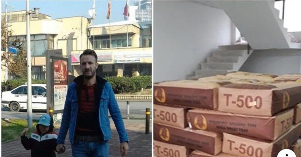Амет Фејзула подарува 25 килограми брашно на семејствата кои не можат да купат