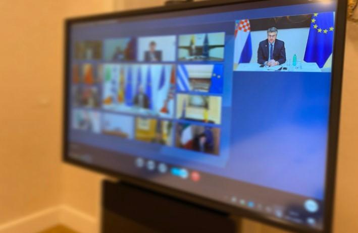 Меркел, Макрон, Џонсон и Курц на виртуелен самит со премиерите од Западен Балкан