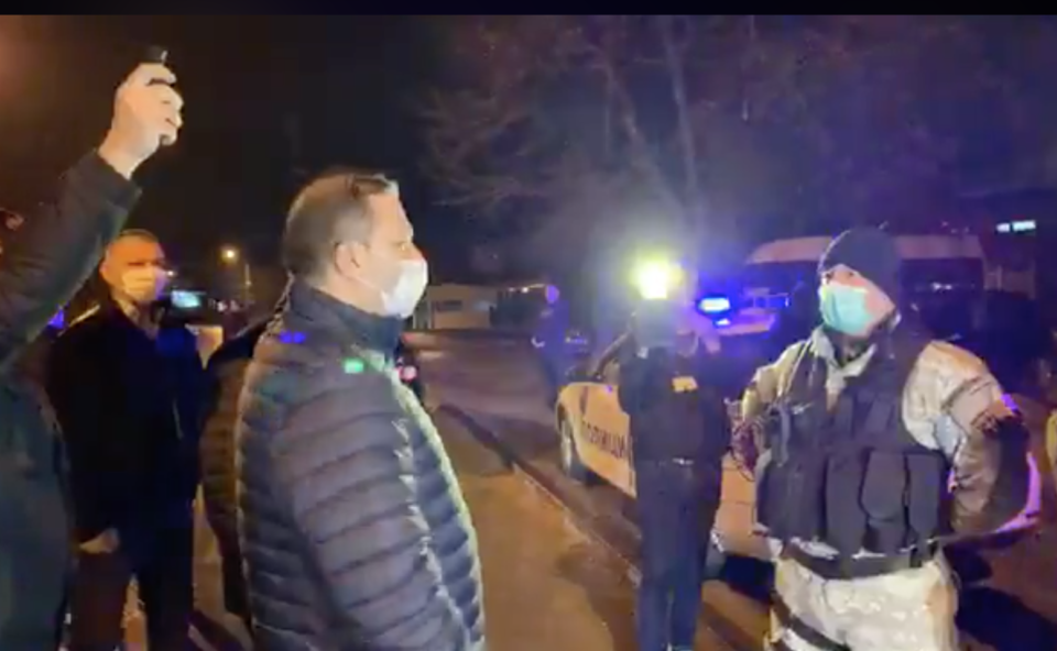 Спасовски и Петровска во Чаир за полицискиот час: Почитувајте ја забраната за движење