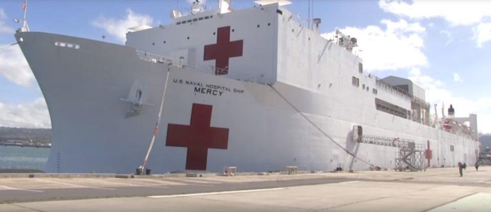 Како изгледа внатре бродот-болница кој се вкотви во Њујорк?