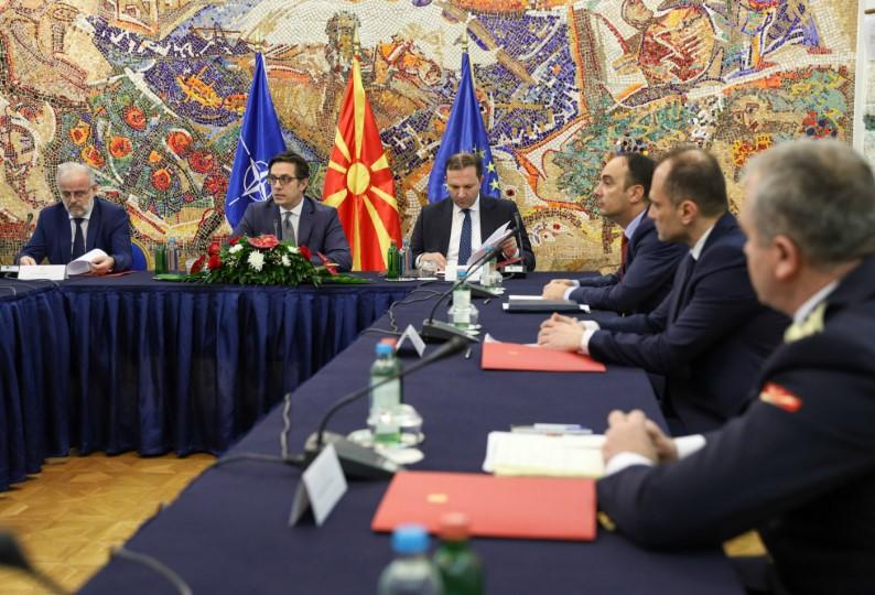 Советот за безбедност ќе заседава за состојбата со Ковид-19 во Македонија