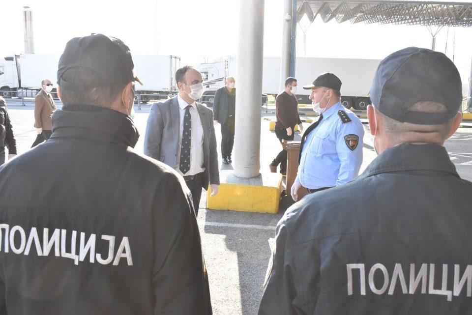 Чулев: Полициските службеници даваат надчовечки напори за намалување на последиците од епидемијата
