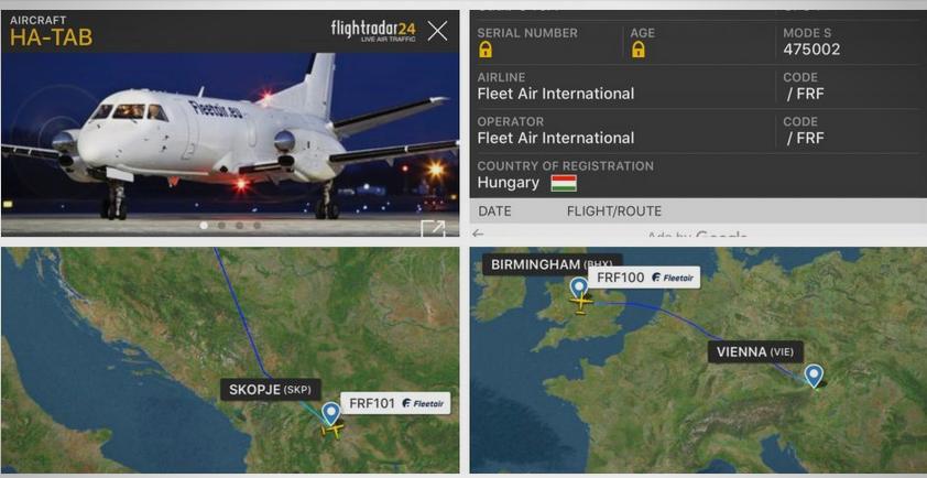 Мистеријата продолжува: Владата не открива што донесе авионот од Виена?