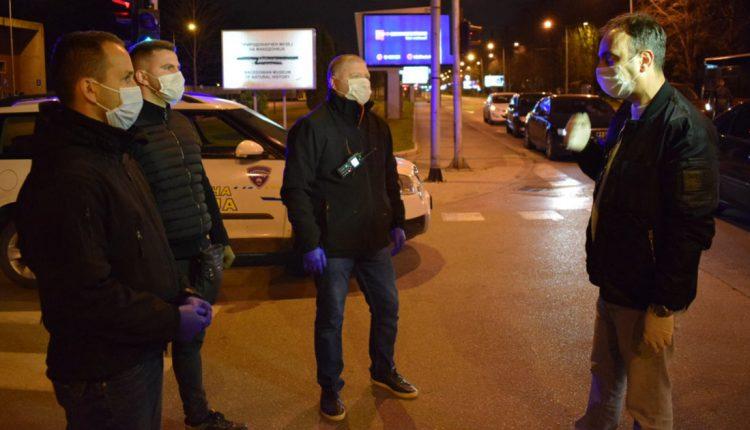Чулев: Граѓаните воглавно го почитуваат ограничувањето за движење