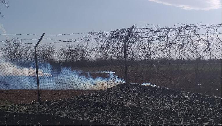 Фрлен солзавец на грчко-турската страна кај Еврос