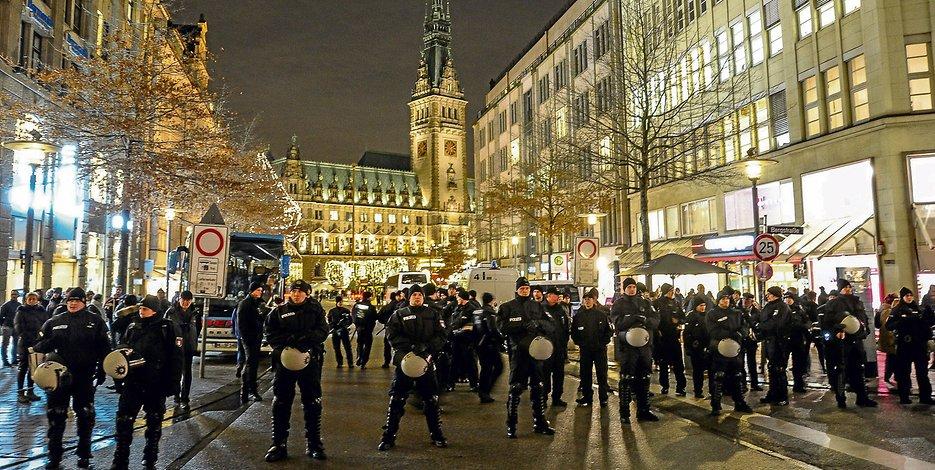 Не, не е Багдад, туку Хамбург, Германија