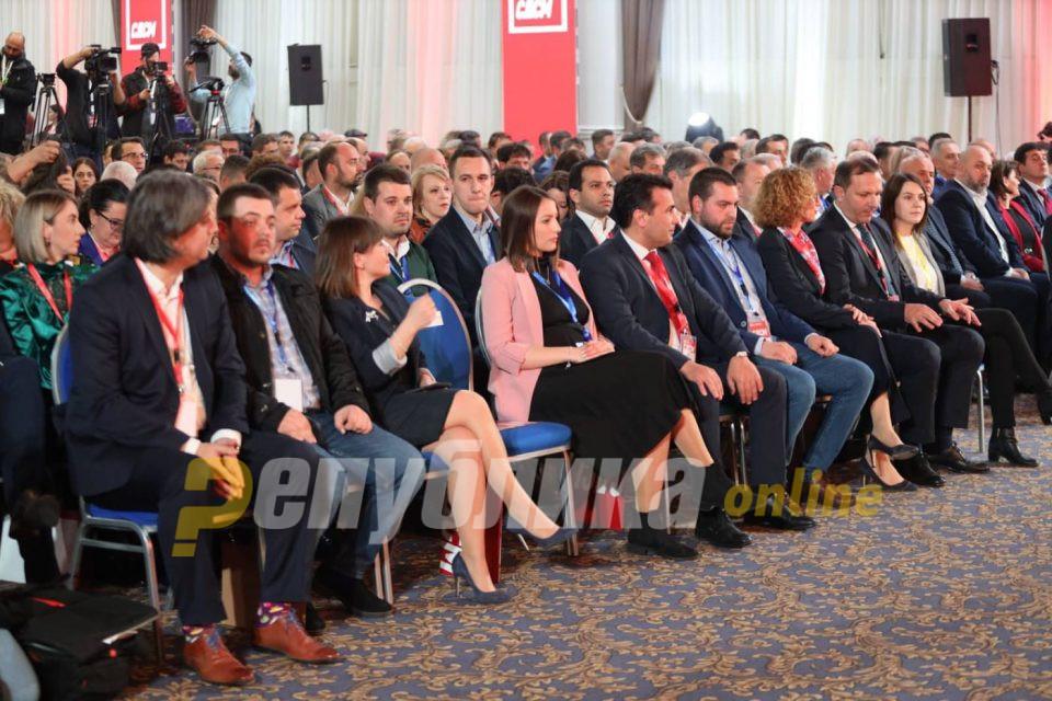 Спасовски: СДСМ е предводник на концпетот 50-50 застапеност на мажи и жени во политиката