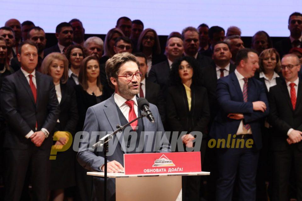 ВМРО-ДПМНЕ за оставката на Дурловски: Тоа е негов личен став кој ние го почитуваме