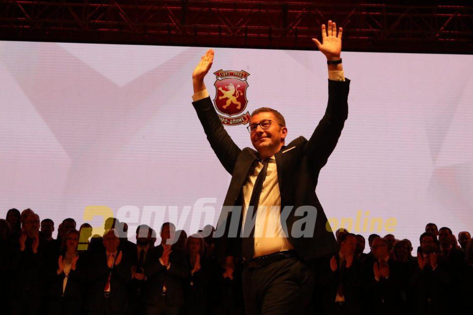 Мицкоски: Убеден сум дека ВМРО-ДПМНЕ ќе победи на парламентарните избори