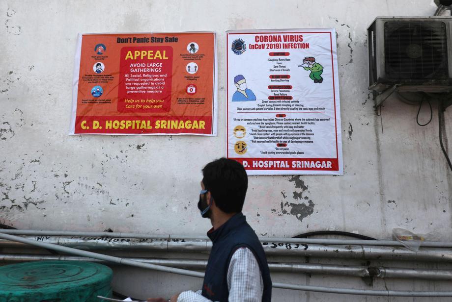 Индија брои 94.372 нови случаи на корона вирус и 1.114 починати