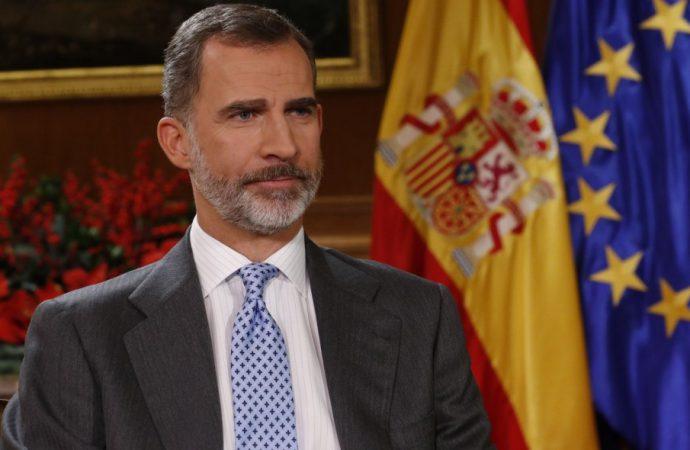 Шпанскиот крал се обрати до нацијата